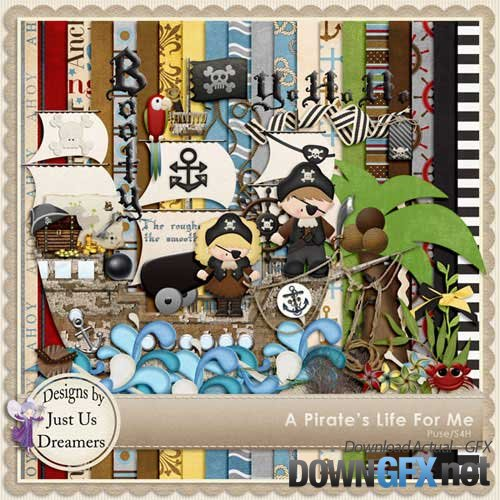 Scrap kit - A pirates life for me