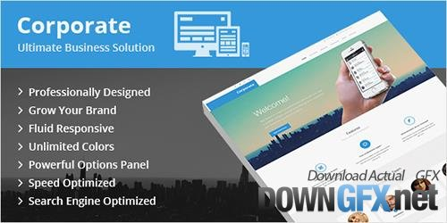 MyThemeShop - Corporate v1.2.5 - Ultimate Business WordPress Theme With An Elegant Design