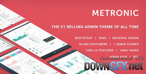 ThemeForest - Metronic v4.7.5 - Responsive Admin Dashboard Template - 4021469