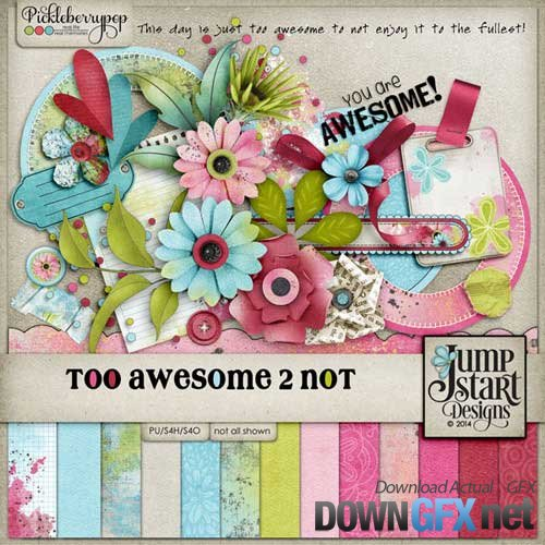 Scrap kit - Too Awesome 2 Not