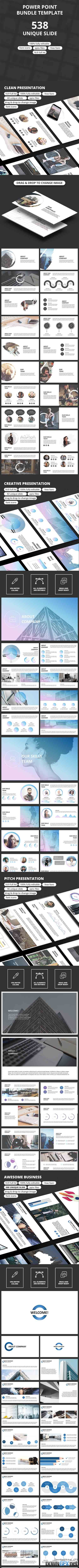 PowerPoint Bundle Template 19747685