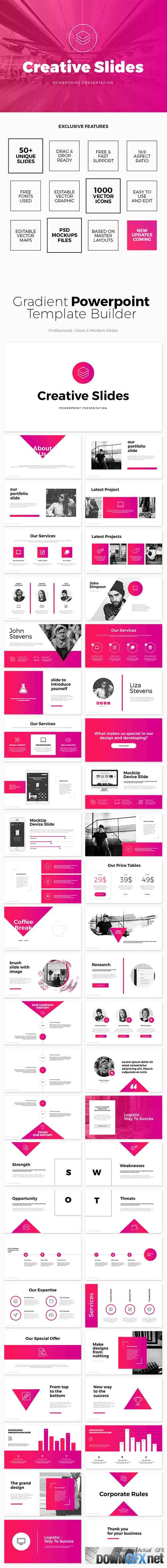 Sakura - Powerpoint Template 19782048