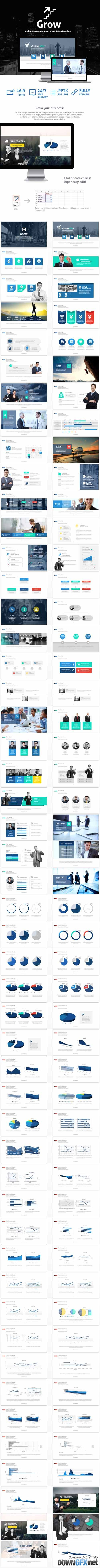 Grow Powerpoint Presentation Template 19859625