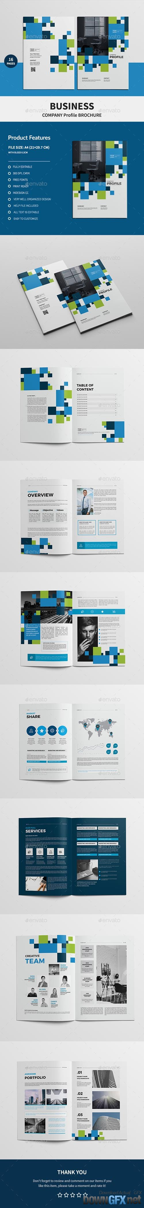 Business Company Profile Brochure 19885206