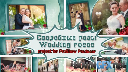 Wedding roses - project ProShow Producer