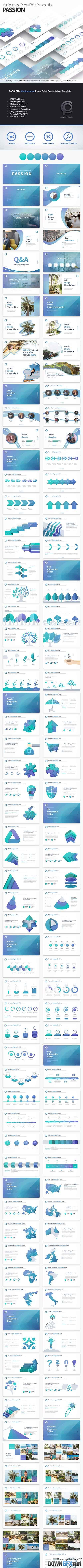 GR - PASSION - Multipurpose PowerPoint Presentation Template 19819206