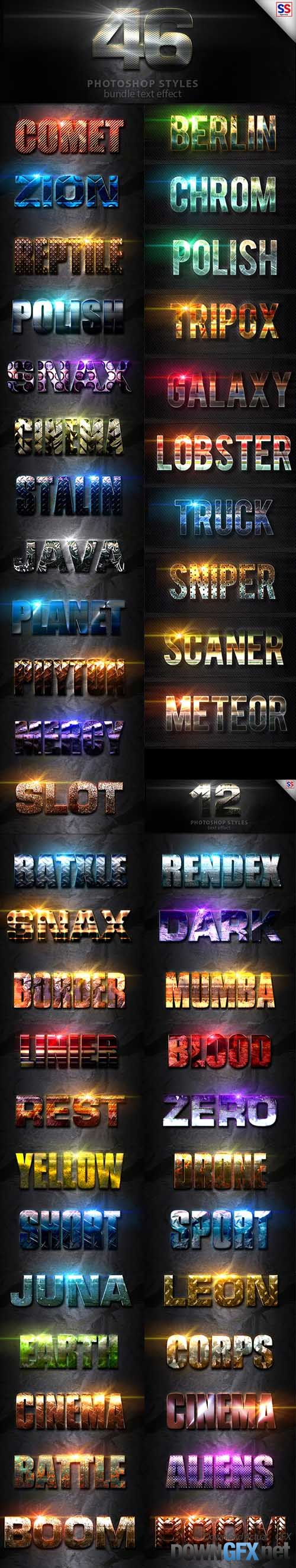 46 Text Effect Bundle Vol 1 19994931