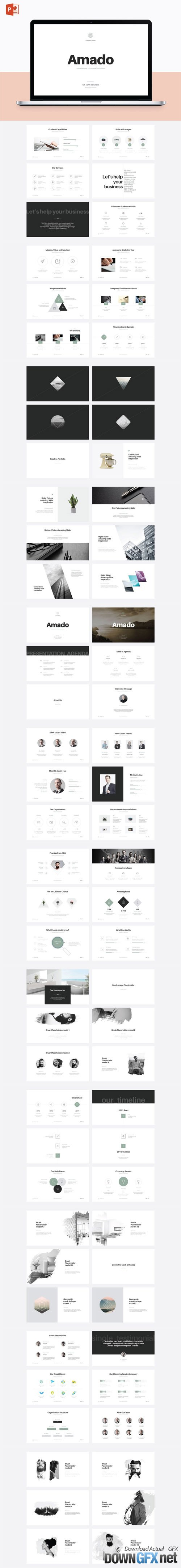 Amado - Multipurpose PowerPoint Template (V.24) 16678354