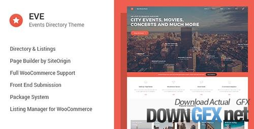 ThemeForest - EVE v1.0.19 - Events Directory WordPress Theme - 17034737