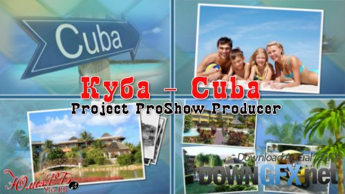 Cuba - project ProShow Producer