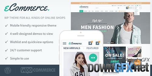MyThemeShop - eCommerce v1.3.9 - Perfect WordPress 'eCommerce' Theme For Increasing Your Sales, Turnover and Profits