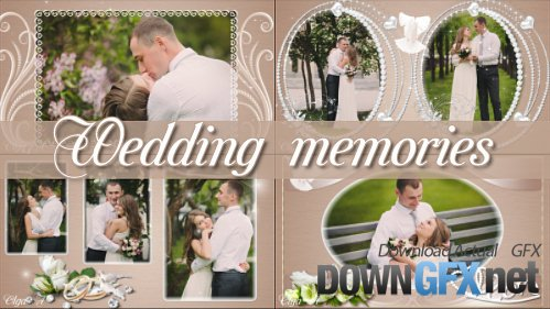 Wedding memories - project for ProShow Producer