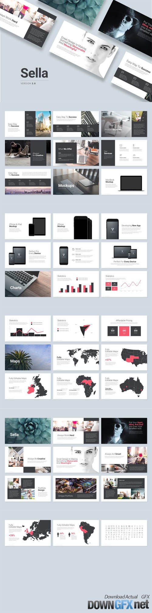 Sella 2.0 Powerpoint Template