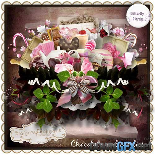 Scrap kit - Chocolate and Candies