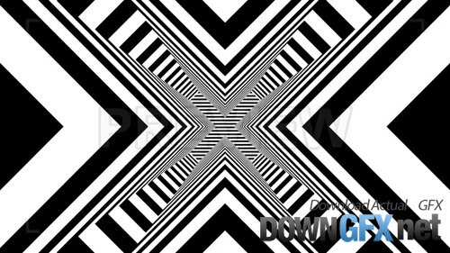 Black and White Geometric Background