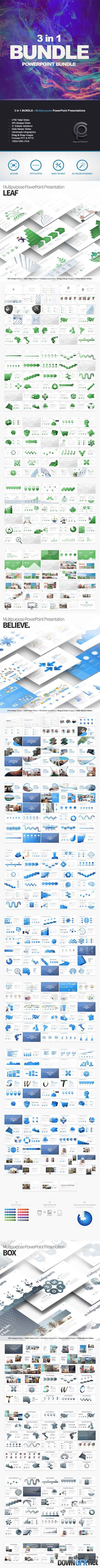 GR - BUNDLE 3in1 - Multipurpose PowerPoint Presentations 20177994