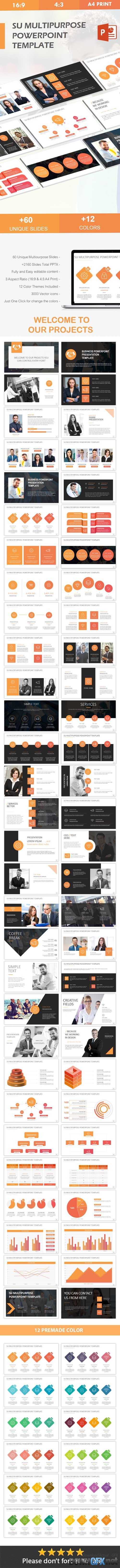 SU multipurpose Powerpoint Template 20146736