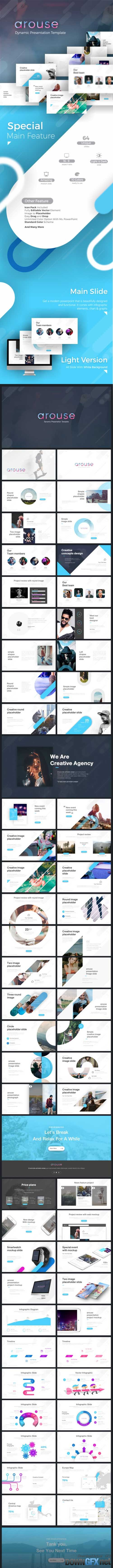 Arouse Dynamic Presentation Template 19703867