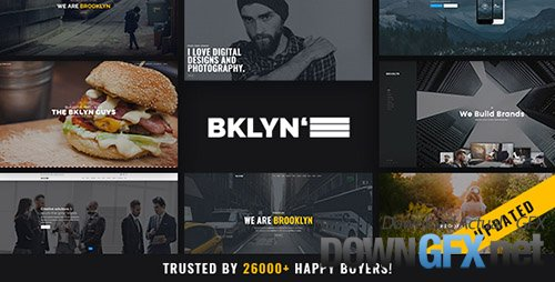 ThemeForest - Brooklyn v4.4.9 - Creative Multi-Purpose WordPress Theme - 6221179