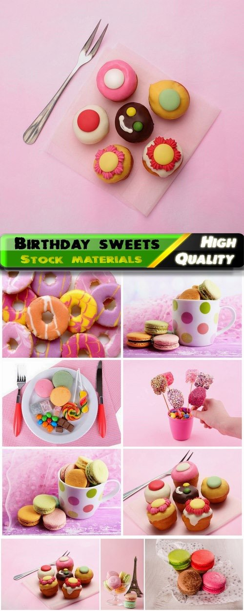 Birthday sweets candy cake cupcake donut biscuit 10 HQ Jpg