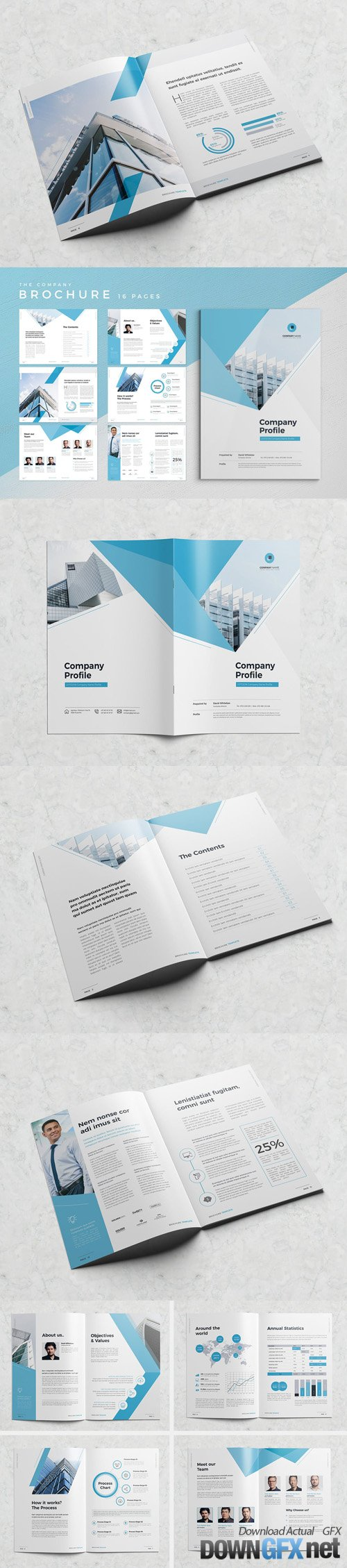 Minimal Company Profile 16 Pages