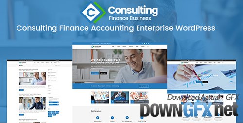 ThemeForest - Consulting v1.0 - Finance Accounting Enterprise PSD Template - 20140870