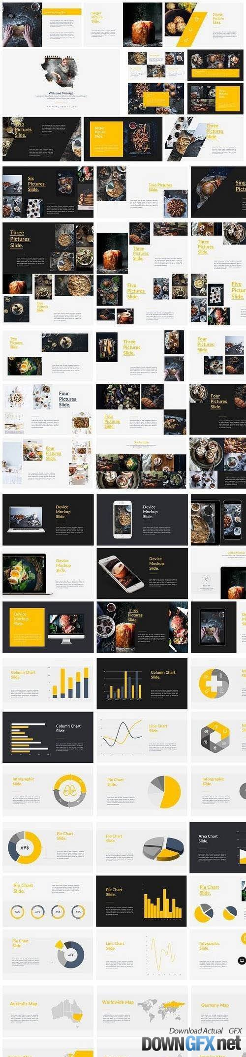 Food Powerpoint Template 1154659