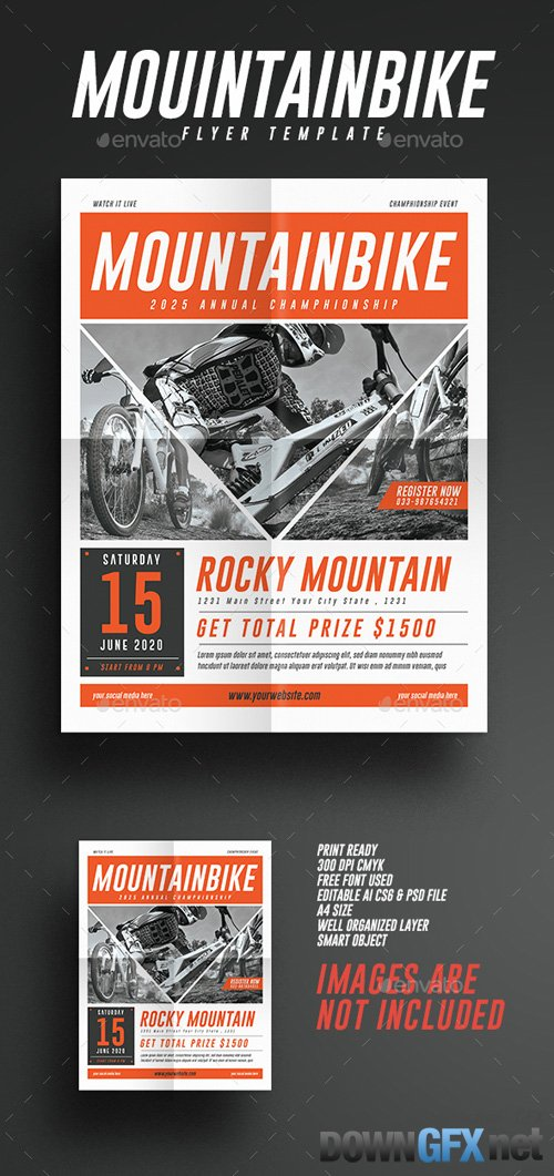 GR - Mountain Bike Event Flyer 20333433
