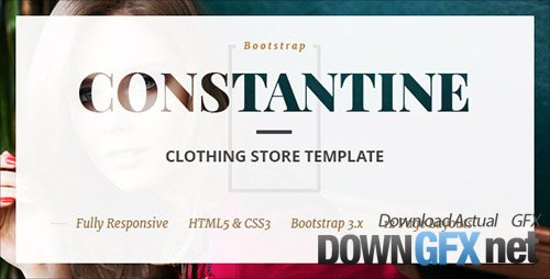 ThemeForest - Constantine v1.0 - Fashion Clothes Shop HTML Template - 15078085