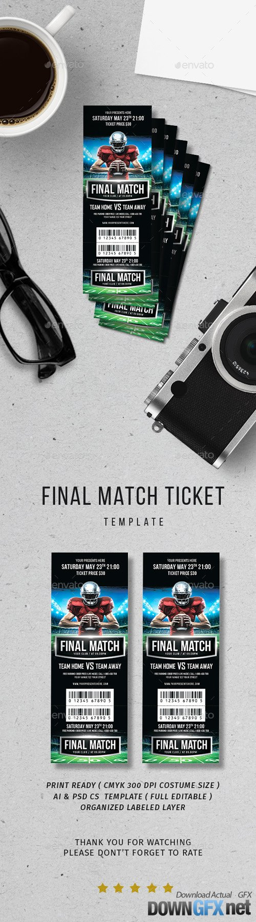 Final Match Ticket 20018891