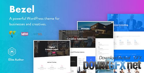 ThemeForest - Bezel v1.0.8 - Creative Multi-Purpose WordPress Theme - 20014332