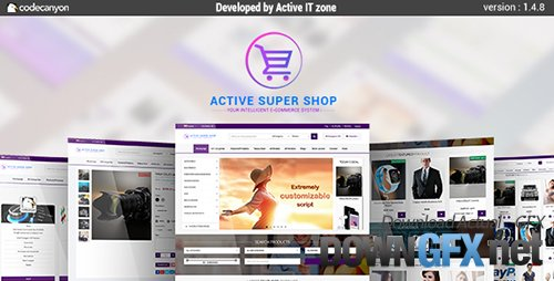 CodeCanyon - Active Super Shop Multi-vendor CMS v1.4.8 - 12124432