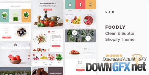 ThemeForest - Foodly v1.8 - One-Stop Food Shopify Theme - 15777451