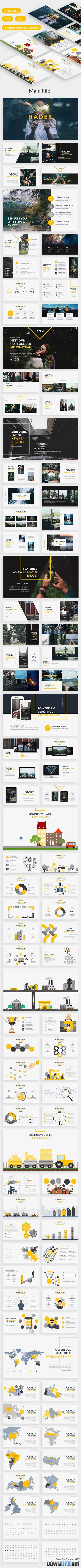 Hades Creative Powerpoint Template 20359395