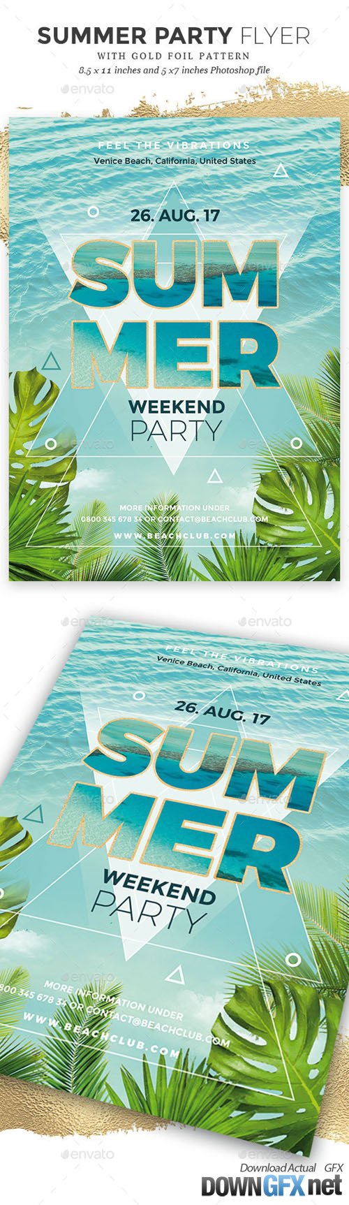 Summer Party Flyer 20363816