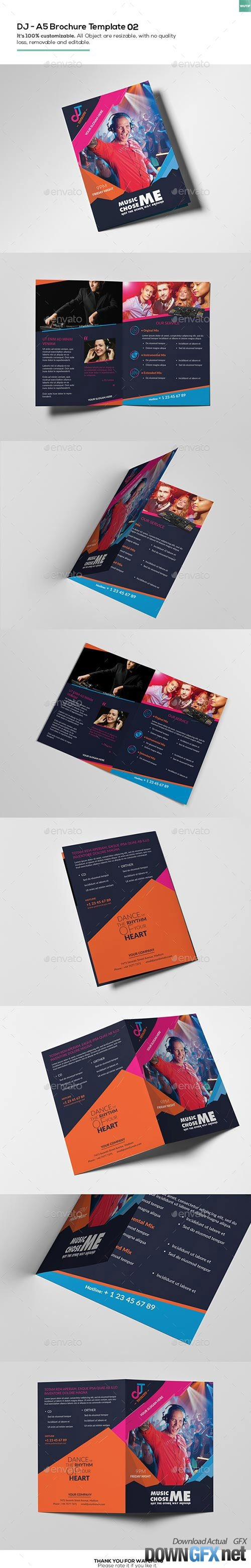 DJ/ A5 Brochure Template 02 16207061