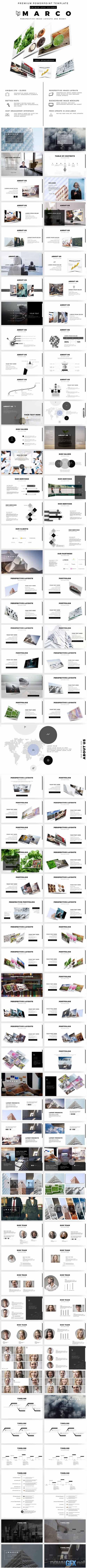 Marco Premium PowerPoint Template 20408897