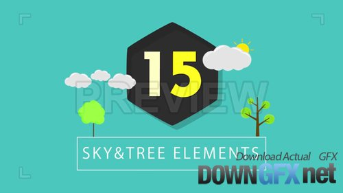 15 Sky and Trees