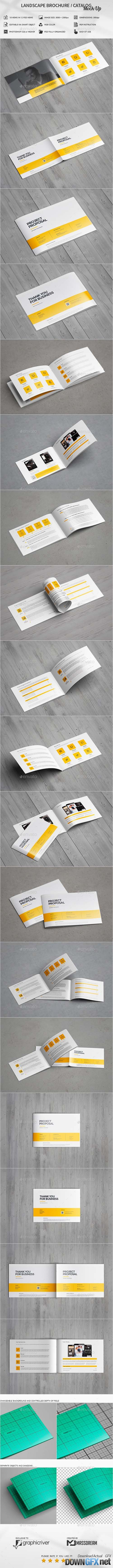 Brochure / Catalog Mock-Up 20455379