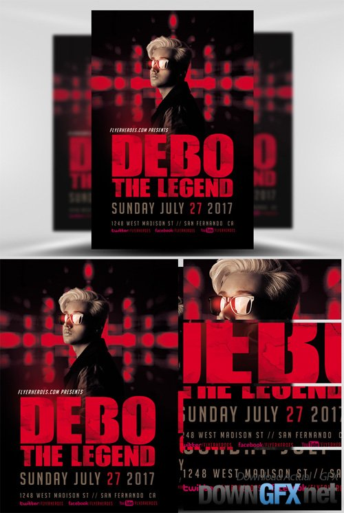 DJ Flyer Template V4