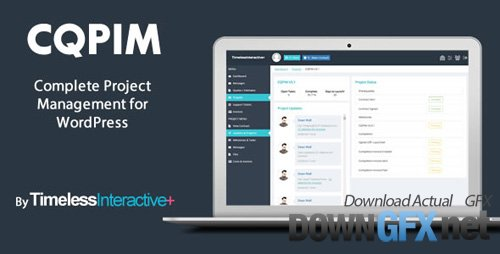 CodeCanyon - CQPIM v3.1 - WordPress Project Management Plugin - 11788321 - NULLED