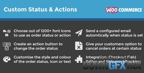 CodeCanyon - WooCommerce Order Status & Actions Manager v2.2.3 - 6392174