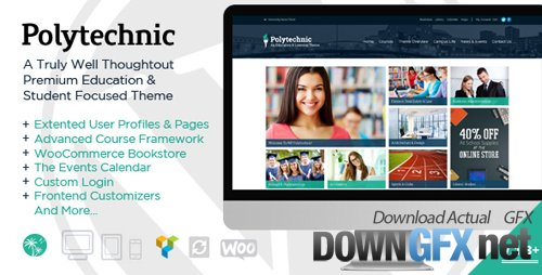 ThemeForest - Polytechnic v1.3.5 - Powerful Education, Courses & Events - 9222581