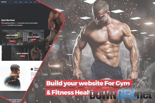 Build your website For Gym & Fitness Health center
