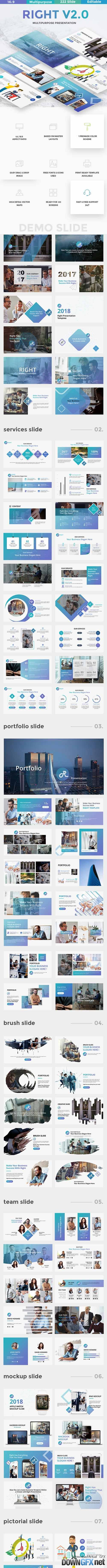 Right v2 Multipurpose Powerpoint Template 20515504