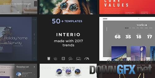 ThemeForest - Interio v1.0 - Creative Agency - 19631117