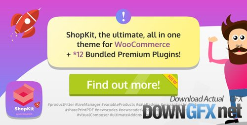 ThemeForest - ShopKit v1.2.0 - The WooCommerce Theme - 19438294