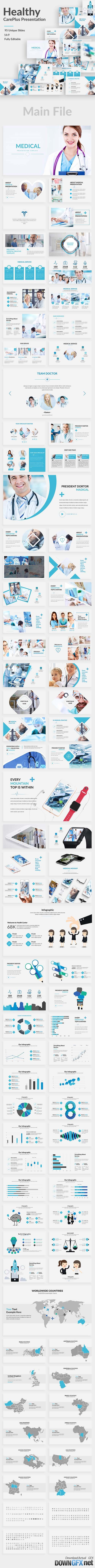 Health CarePlus Powerpoint Template 20501993