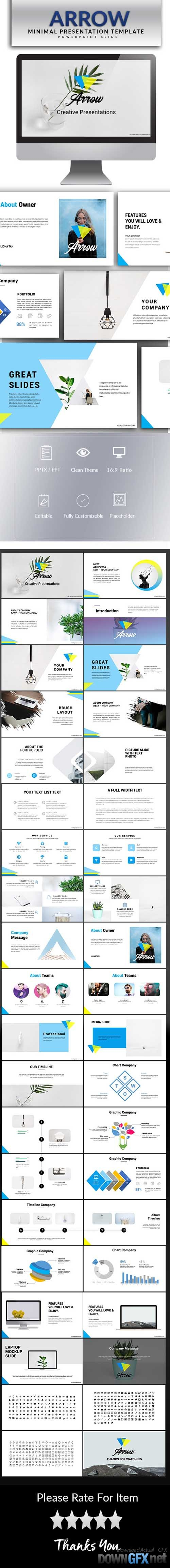 Arrow Powerpoint Template 20738024