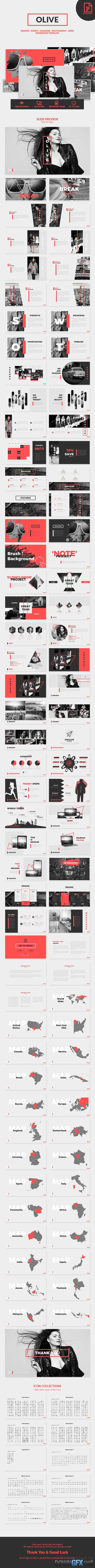 Olive - Creative PowerPoint Template 20738298